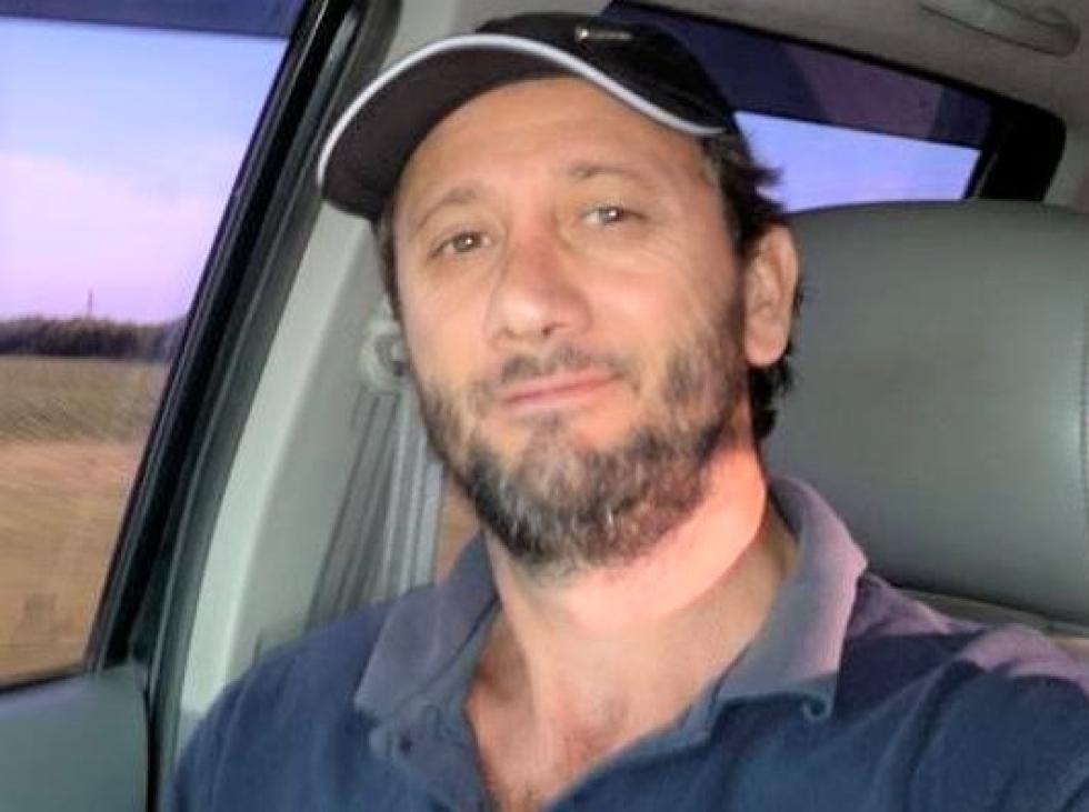 José María Ubeda detenido con drogas armas de fuego municiones y camioneta en zona rural de Avellaneda el 15 Mayo 2019.jpg