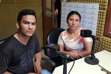 12072019 Jonatan Ramirez Graciela Ramirez hermano y madre de Ignacio Ramirez qepd.jpg