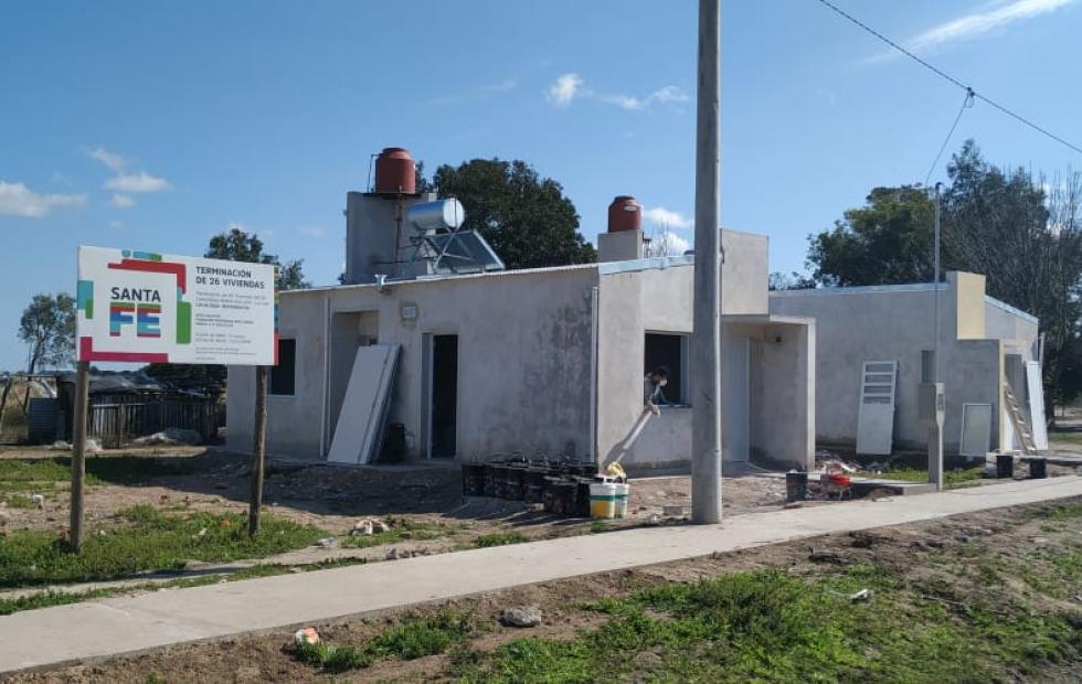 La provincia avanza con 80 soluciones habitacionales en Reconquista.