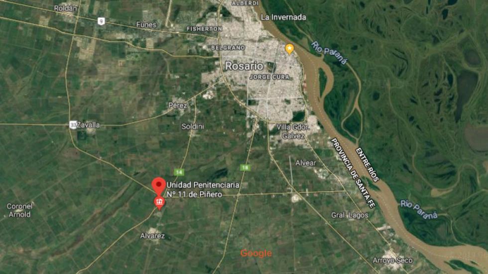 Carcel de Piñero maps satelital.jpg