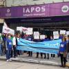 La Intersindical rechaza los aumentos de IAPOS y convoca a la prensa para el martes en la sede de la obra social.