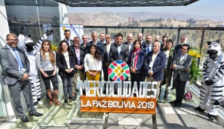 Como miembro del Consejo de Mercociudades, Avellaneda representada por su Intendente participa de la reunión que se desarrolla en Bolivia.