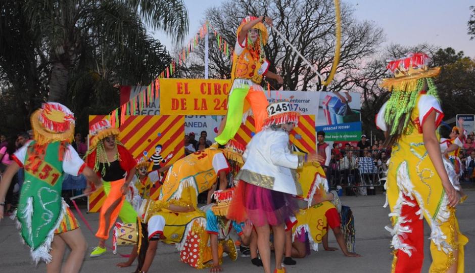 Los jóvenes de Avellaneda pudieron disfrutar del gran cierre de su Estudiantina 2019.