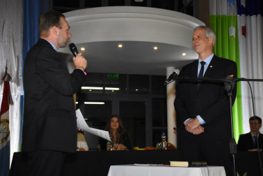 Jura Dionisio Scarpín para iniciar su tercer mandato como intendente de Avellaneda 06122019.jpeg