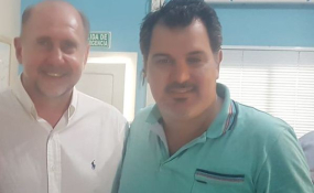 """Líder de los trabajadores desocupados que protestan en Las Toscas acusó a un funcionario de Omar Perotti como """"El Patrón del Mal, mafioso, chanta y sinvergüenza""""."""