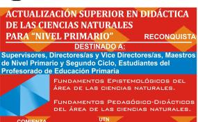 La Universidad Nacional de Rosario invita a docentes a realizar cursos de capacitación. Opciones.