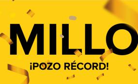 RÉCORD HISTÓRICO!!!: $400 millones sorteará el QUINI 6 este domingo.