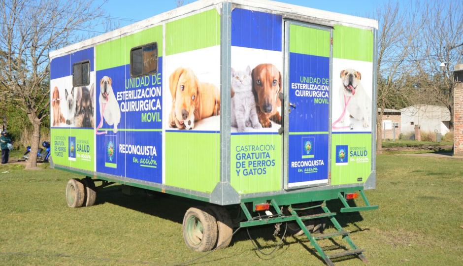 Avanzan con la campaña de tenencia responsable de mascotas. Castraciones en el quirófano móvil y vacunación y desparasitación gratuita para perros y gatos. Dónde y cuándo.