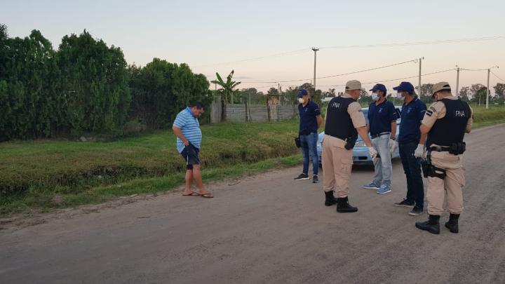 29032020 Héctor Centurión detenido con 3 gl de alcohol prefectura C.jpeg