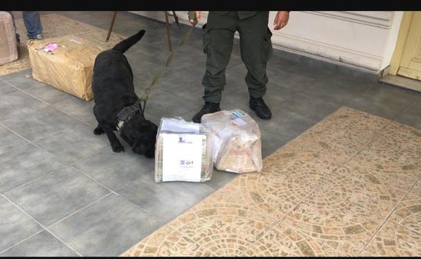 Por las restricciones de movilidad por la pandemia crece el transporte de drogas por encomienda. Ya hay varios detenidos en las últimas semanas.