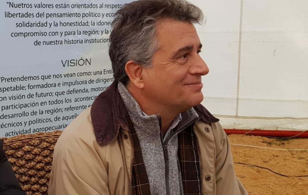 Qué dijo el ministro de Agroindustria de la Nación al visitar la Expo Rural de Reconquista