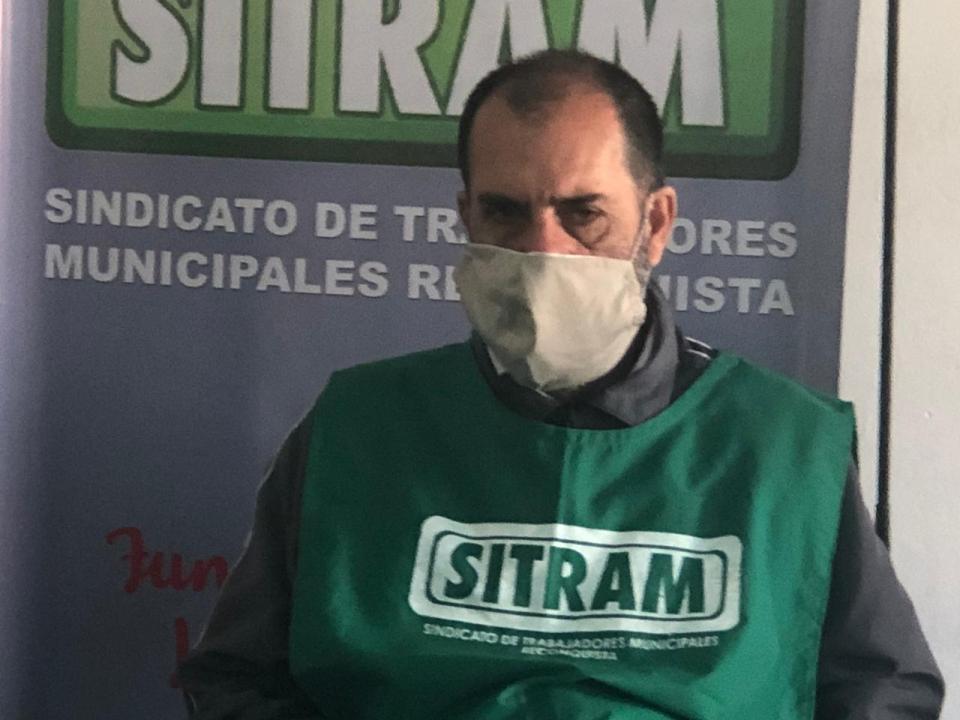 Aldo Sotelo del SITRAM.