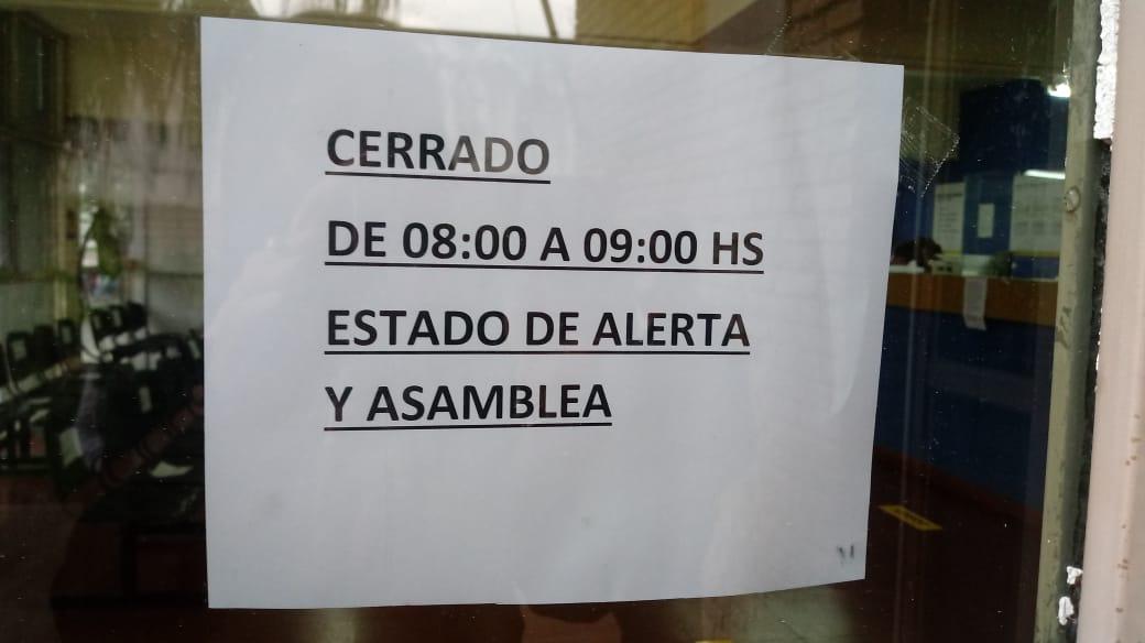 Correo Argentino de Paro