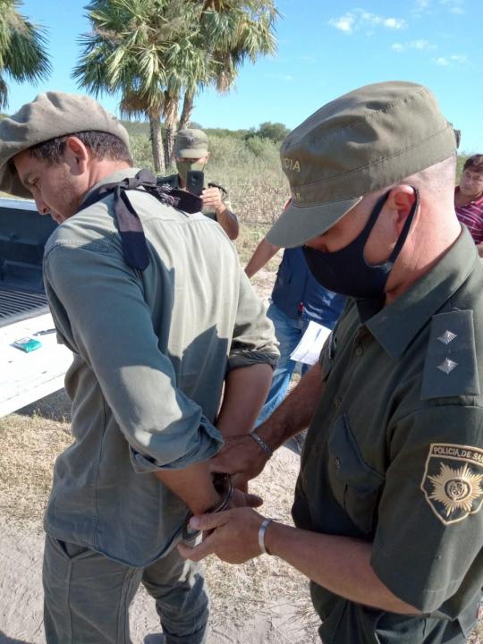 Leonardo Balsaretti al ser detenido x abigeato es empleado de Agu.jpeg