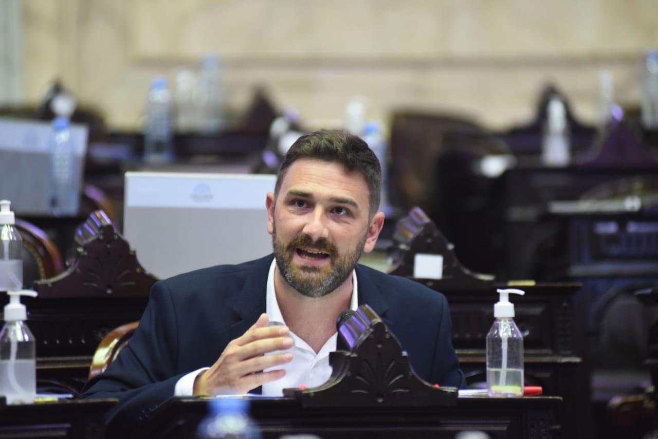 El diputado nacional del Bloque Socialista, Enrique Estévez.jpeg