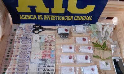 Secuestraron cocaína y marihuana en Alejandra y el juez Alurralde dispuso la detención de un hombre que ya estaba bajo investigación.