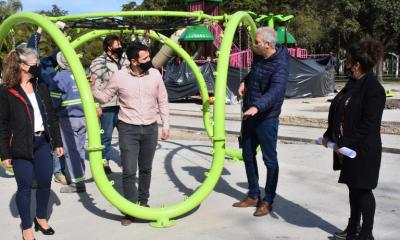 """Avanzamos con la creación y puesta en valor de espacios verdes"""", destacó el Intendente Scarpin"""