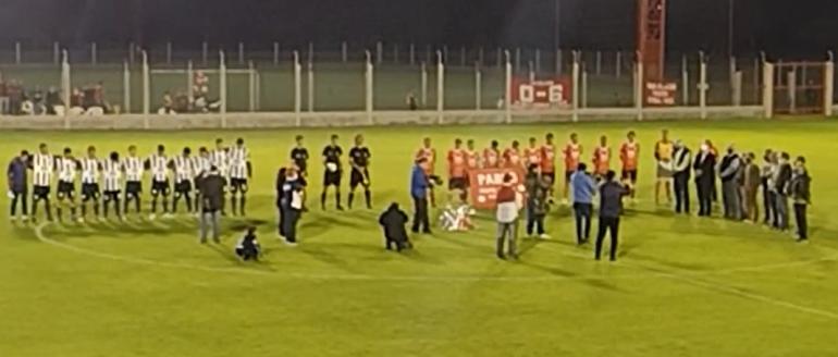 inauguracion futbol liguista 2021 en Romang FC Copa centenario club platense