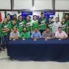 Presentaron el equipo de básquet de PlatensePorvenir que se encuentra participando de laLiga Provincial. Hoy, jugará frente a Argentino de Firmat.
