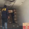 Federales secuestraron un camión con toda su carga. El chofer quedó detenido.
