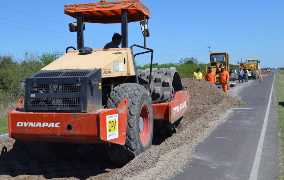 La provincia comenzó la reparación integral de la Ruta 40. Detalles de la obra.