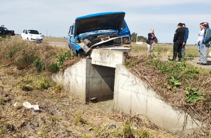 11082019 choque Ruta Provincial 31 camioneta ORLINDO ALDO MAURENCIG.jpg