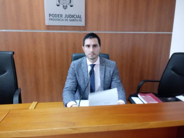 Juez Penal Santiago Banegas