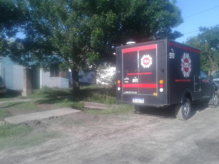 03112019 cadaver de Isabel Baez en su casa de Barrio Zulema morguera.jfif