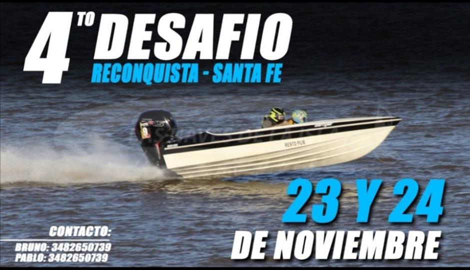 Se suspendieron las picadas de lanchas programadas para este fin de semana en el Puerto Reconquista.