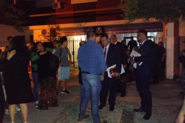 juicio al sacerdote Néstor Monzón vereda de tribunales en vigilia.jfif