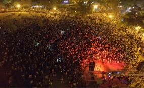 """Con el tradicional """"Patarenas"""" en la playa, DJ y entrada gratuita comienza hoy viernes una nueva edición de la Fiesta Provincial del Sol en Romang."""