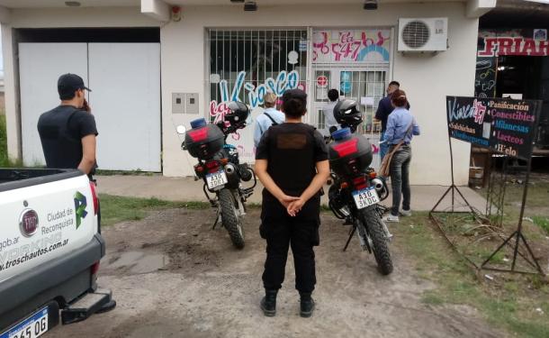 La Agencia Gubernamental de Control realizó hoy la clausura de 3 locales comerciales en Reconquista por diversas faltas. Aquí los detalles.