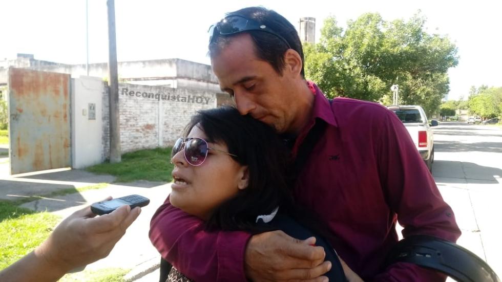 Evelyn Lencina y Carlos Daniel Vicentín padres de Adrián Insaurralde qepd.jpeg