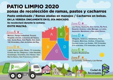 PATIO LIMPIO 2020