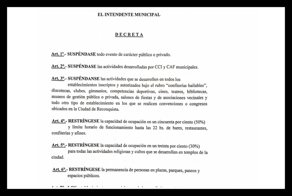 16032020 decreto intendente de reconquista x situacion de emergencia sanitaria.jpg