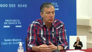 Juan Manuel Pusineri, secretario de Trabajo de la provincia.