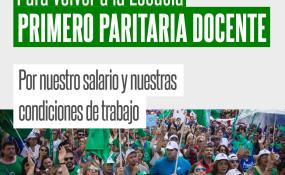 Qué dice el comunicado emitido por SADOP en referencia a la reapertura de las paritarias provinciales.