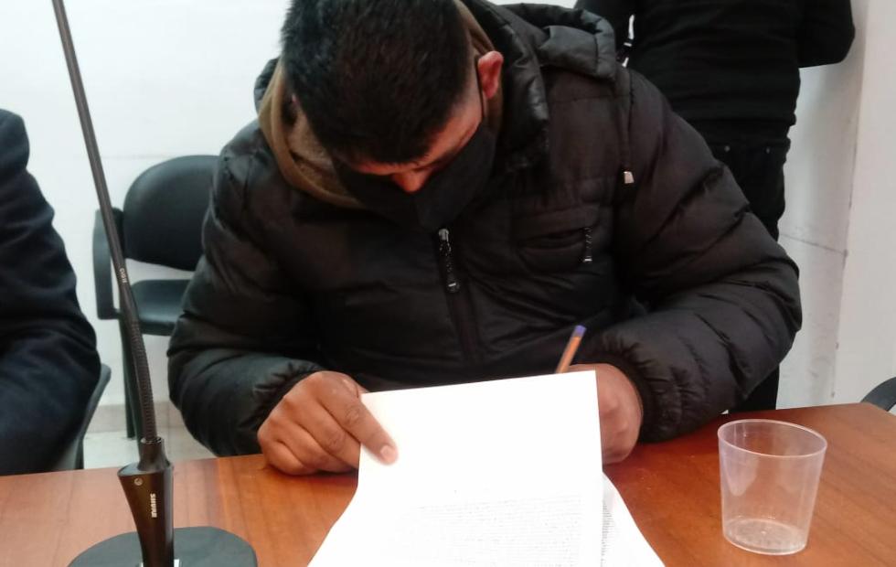 5 años de prisión para un vecino de Avellaneda que hoy mismo quedó detenido para mandarlo a la cárcel.