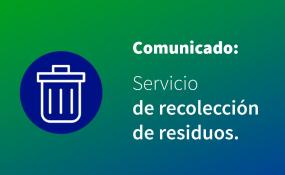Como será la recolección de residuos en Reconquista y Avellaneda el jueves 9 y el viernes 10 de julio.