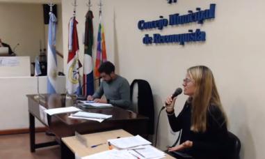 Lilian Masat en el Concejo