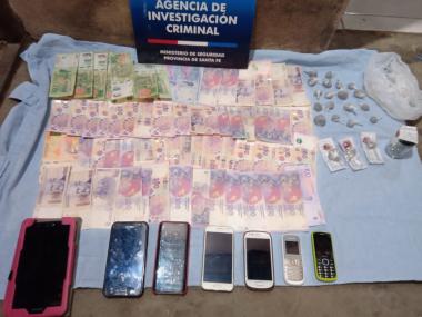 Allanamiento por drogas ilícitas 24072020 Gustavo Flama Florencia Fernández Martín Quintana Federico Martínez Danilo Leiva