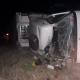 Volcó un camionero de Avellaneda en la Ruta Provincial N° 1.