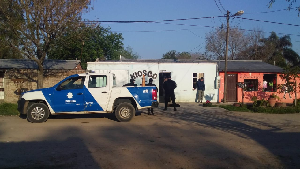 Allanamientos en Barrio Nueva Fe.