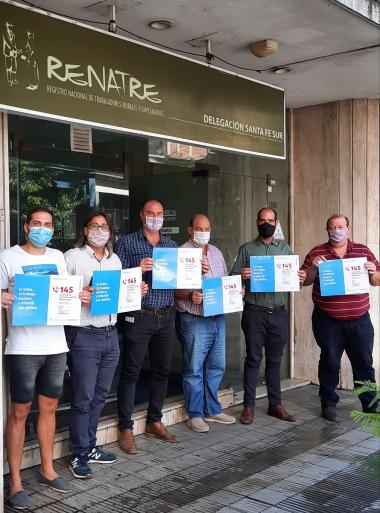 Renatre se compromete a luchar contra el trabajo en negro.
