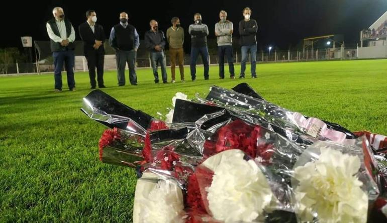 Liga Reconquistense Copa Platense memoria por las víctimas del Covid coronavirus.jpg copy