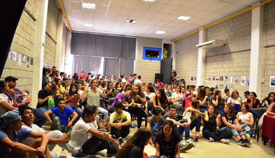 Estudiantina Olímpica: sábado de fotos y audiovisuales