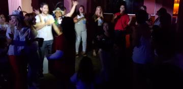 Koe Pora festejó el primer puesto comparsa carnaval reconquistense corsos 2019.gfif.jfif