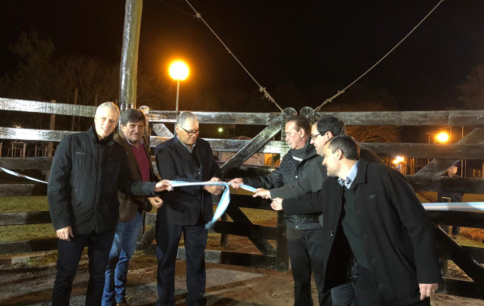 85a Expo Rural de Reconquista: Se realizó la apertura de tranqueras.
