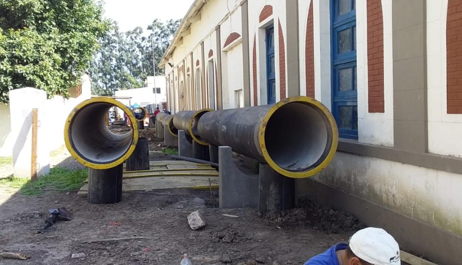 ASSA interrumpió por 20 horas el servicio de agua potable en Reconquista y se complican algunas actividades.