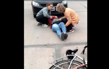 choque en 9 y 20 Avellaneda Norma Bacca en auto y Graciela Segovia al hosp